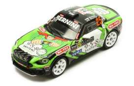 Fiat  - Abarth 124 2018 black/green - 1:43 - IXO Models - ram681 - ixram681 | The Diecast Company