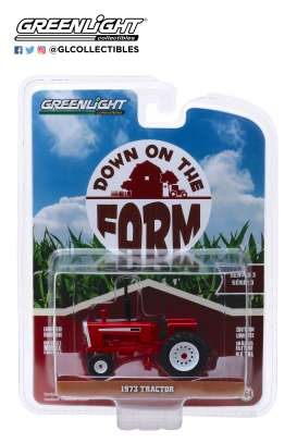 non  - Cockshutt G-1355 1973 red - 1:64 - GreenLight - 48030C - gl48030C | The Diecast Company