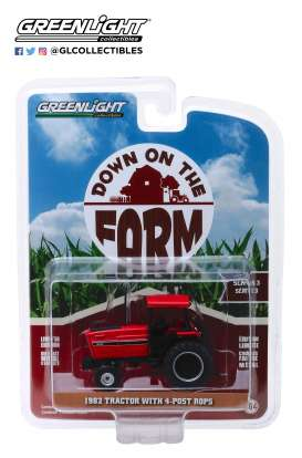 non  - 4-Post ROPS 1982 red/black - 1:64 - GreenLight - 48030E - gl48030E | The Diecast Company