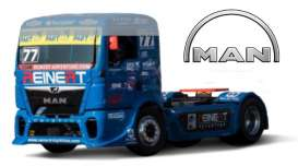 MAN  - ETR Race blue - 1:43 - Bburago - 31070D - bura31070D | The Diecast Company