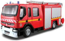 Renault  - red - 1:50 - Bburago - 32002 - bura32002 | The Diecast Company