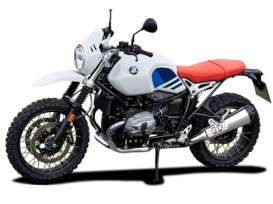 BMW  - R Nine white/blue/red - 1:18 - Bburago - 51069 - bura51069 | The Diecast Company