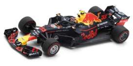 Red Bull Racing  Aston Martin - TAG Heuer RB14 2018 blue/red/yellow - 1:43 - Spark - s6066 - spas6066 | The Diecast Company
