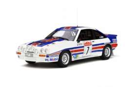 Opel  - Manta 400R 1983 white/red/blue - 1:18 - OttOmobile Miniatures - 761 - otto761 | The Diecast Company