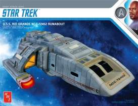 Star Trek  - DS9 Rio Grande  - 1:72 - AMT - s1084 - amts1084 | The Diecast Company