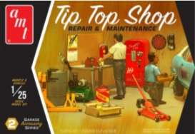 Accessoires Tools - Garage Accessory Set #2  - 1:25 - AMT - spp016 - amtspp016 | The Diecast Company