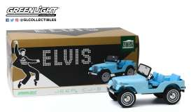 Jeep  - CJ-5 blue - 1:18 - GreenLight - 19061 - gl19061 | The Diecast Company