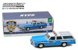 Ford  - LTD Crown Victoria 1988 blue/white - 1:18 - GreenLight - 19062 - gl19062 | The Diecast Company