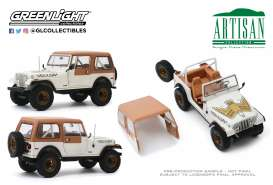Jeep  - CJ-7 1979 white - 1:18 - GreenLight - 19065 - gl19065 | The Diecast Company