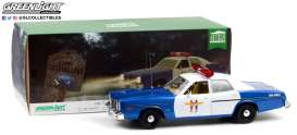 Dodge  - Monaco Police 1978 blue/white - 1:18 - GreenLight - 19068 - gl19068 | The Diecast Company
