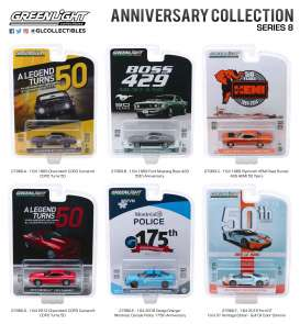 Assortment/ Mix  - various - 1:64 - GreenLight - 27980 - gl27980 | The Diecast Company
