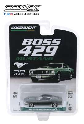 Ford  - Mustang Boss 1969  - 1:64 - GreenLight - 27980B - gl27980B | The Diecast Company