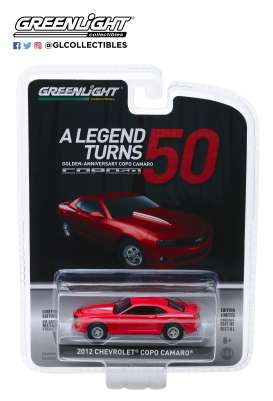 Chevrolet  - COPO Camaro 2012  - 1:64 - GreenLight - 27980D - gl27980D | The Diecast Company