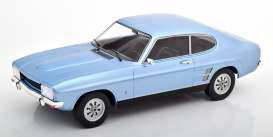 Ford  - Capri MKI 1968 light blue - 1:18 - MCG - 18084 - MCG18084 | The Diecast Company