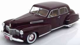 Cadillac  - Fleetwood series 60 1941 dark red - 1:18 - MCG - 18071 - MCG18071 | The Diecast Company
