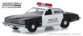 Pontiac  - Le Mans 1977 black/white - 1:64 - GreenLight - 42880B - gl42880B | The Diecast Company