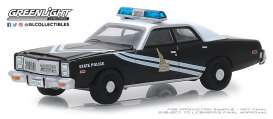 Dodge  - Monaco 1978 black/white - 1:64 - GreenLight - 42880C - gl42880C | The Diecast Company
