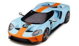 Ford  - GT blue/orange - 1:18 - GT Spirit - GT783 - GT783 | The Diecast Company