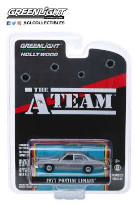 Pontiac  - LeMans 1977 grey - 1:64 - GreenLight - 44850C - gl44850C | The Diecast Company