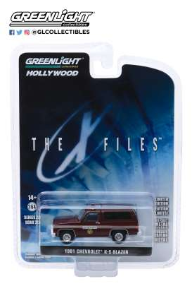 Chevrolet  - K-5 Blazer 1981 brown - 1:64 - GreenLight - 44850D - gl44850D | The Diecast Company