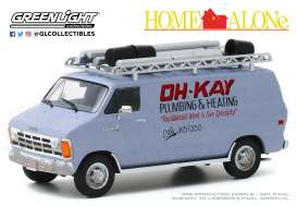 Dodge  - Ram Van 1986 silver - 1:43 - GreenLight - 86560 - gl86560 | The Diecast Company