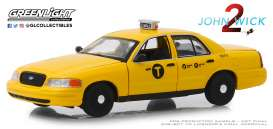Ford  - Crown Victoria 2008 yellow - 1:43 - GreenLight - 86561 - gl86561 | The Diecast Company