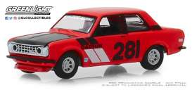 Datsun  - 510 1970 red - 1:64 - GreenLight - 47040A - gl47040A | The Diecast Company