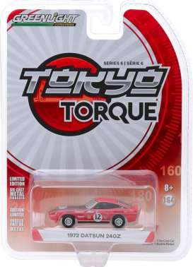 Datsun  - 240Z 1972 red - 1:64 - GreenLight - 47040C - gl47040C | The Diecast Company