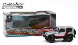 Jeep  - silver/black - 1:43 - GreenLight - 86174 - gl86174 | The Diecast Company