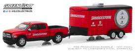 Ram  - 2500 Big Horn 2017 red/black - 1:64 - GreenLight - 32170C - gl32170C | The Diecast Company