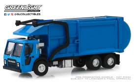 Mack  - LR Refuse 2019 blue - 1:64 - GreenLight - 45070C - gl45070C | The Diecast Company