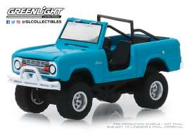 Ford  - Bronco 1967 teal - 1:64 - GreenLight - 35130A - gl35130A | The Diecast Company