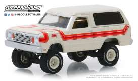 Dodge  - Ramcharger 1978 white/orange - 1:64 - GreenLight - 35130C - gl35130C | The Diecast Company