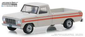 Ford  - F-250 Explorer 1979 white/orange - 1:64 - GreenLight - 35130D - gl35130D | The Diecast Company