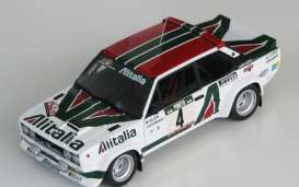 Fiat  - 131 Abarth Rally 1979 white/red/green - 1:18 - IXO Models - rmc028A - ixrmc028A | The Diecast Company