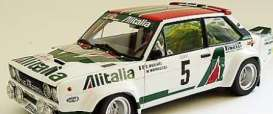 Fiat  - 131 Abarth Rally 1979 white/red/green - 1:18 - IXO Models - rmc028B - ixrmc028B | The Diecast Company