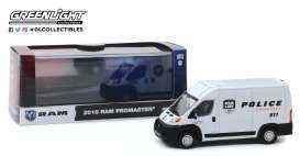Ram  - Promaster 2018 white - 1:43 - GreenLight - 86168 - gl86168 | The Diecast Company
