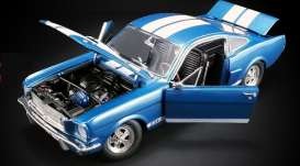 Shelby  - GT350 Supercharged 1966 blue/white - 1:18 - Acme Diecast - 1801834 - acme1801834 | The Diecast Company