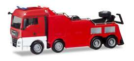 MAN  - TGX XLX red - 1:87 - Herpa - 013581 - herpa13581 | The Diecast Company