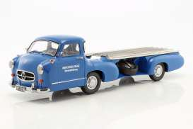 Mercedes Benz  - Blue Wonder 1955 blue - 1:18 - iScale - 118000000006 - iscale1180006 | The Diecast Company