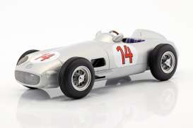 Mercedes Benz  - W196 1955 silver - 1:18 - iScale - 118000000011 - iscale1180011 | The Diecast Company