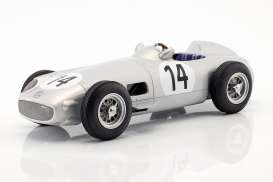 Mercedes Benz  - W196 1955 silver - 1:18 - iScale - 118000000014 - iscale1180014 | The Diecast Company