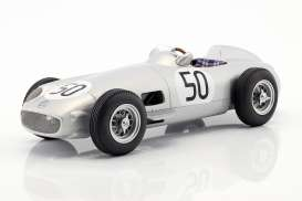 Mercedes Benz  - W196 1955 silver - 1:18 - iScale - 118000000013 - iscale1180013 | The Diecast Company