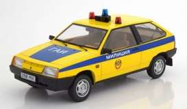 Lada  - Samara 1984 yellow/blue - 1:18 - KK - Scale - 180216 - kkdc180216 | The Diecast Company