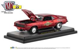 Chevrolet  - Camaro  1969 red/black - 1:24 - M2 Machines - 40300moon02A - M2-40300moon02A | The Diecast Company
