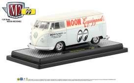 Volkswagen  - Delivery Van 1960 light grey/blue - 1:24 - M2 Machines - 40300moon02B - M2-40300moon02B | The Diecast Company