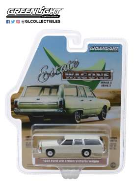 Ford  - LTD Crown Victoria 1984 desert tan - 1:64 - GreenLight - 29950E - gl29950E | The Diecast Company