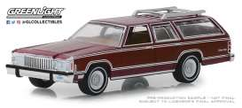 Mercury  - Grand Marquis 1985 burgundy - 1:64 - GreenLight - 29950F - gl29950F | The Diecast Company