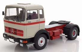 Mercedes Benz  - LPS 1632 1969 grey/red/black - 1:18 - Road Kings - 180023 - rk180023 | The Diecast Company
