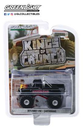 Ford  - F-250 Monster Truck black/red - 1:64 - GreenLight - 49040B - gl49040B | The Diecast Company